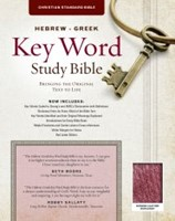 The CSB Hebrew-Greek Key Word Study Bible Burgundy