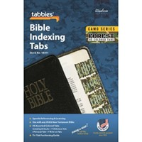 Bible Indexing Tabs Camo 'Forest'