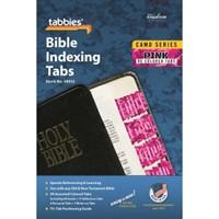 Bible Index Tabs Camo 'Pink'