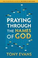 Praying Through the Names of God (Leather Binding)