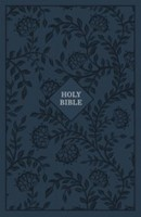 KJV Reference Bible, Blue, Giant Print, Red Letter Ed. (Cloth-Bound)