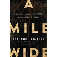 Mile Wide, A (Paperback)