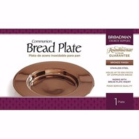 Bronze Bread Plate