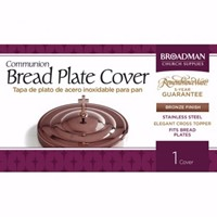 Bronze Bread Plate Cover