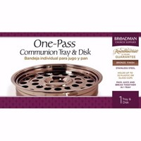 Bronze One-Pass Tray And Disc