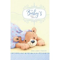 KJV Baby's First Bible, Blue (Hard Cover)