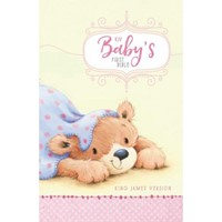 KJV Baby's First Bible, Pink (Hard Cover)