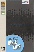 KJV Bible For Kids, Charcoal (Imitation Leather)
