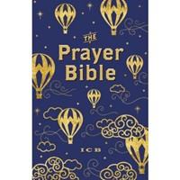 ICB Prayer Bible For Children, Navy And Gold (Hard Cover)
