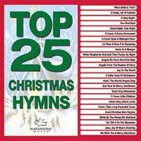 Top 25 Christmas Hymns CD