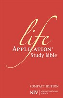 NIV Compact Life Application Study Bible (Hard Cover)