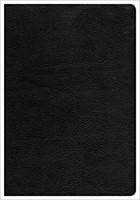 CSB Giant Print Reference Bible, Black, Indexed (Genuine Leather)