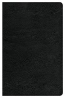CSB Large Print Personal Size Reference Bible, Black (Genuine Leather)