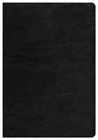 CSB Super Giant Print Reference Bible, Black Genuine Leather (Leather Binding)