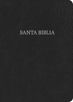 RVR 1960 Biblia Letra Grande Tamaño Manual, negro piel fabri (Bonded Leather)