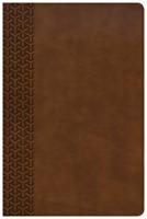 KJV Everyday Study Bible, British Tan LeatherTouch (Imitation Leather)
