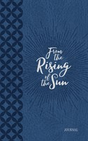 Journal: From the Rising of the Sun, Blue/White (Imitation Leather)
