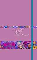 Write Journal: From the Heart (Orchid) (Imitation Leather)