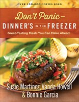 Don't Panic- Dinner's In The Freezer (Paperback)