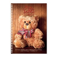 Soft Cover Journal Love Bears All Things