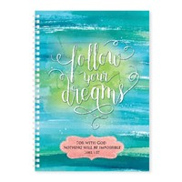 Soft Cover Journal Follow Your Dreams (Notebook / Blank Book)