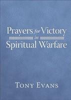 Prayers for Victory in Spiritual Warfare (Leather Binding)