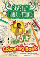Beastly Bible Stories Colouring Book Old Testament.
