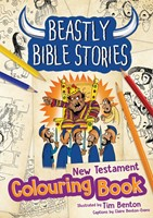 Beastly Bible Stories New Testament Colouring Book