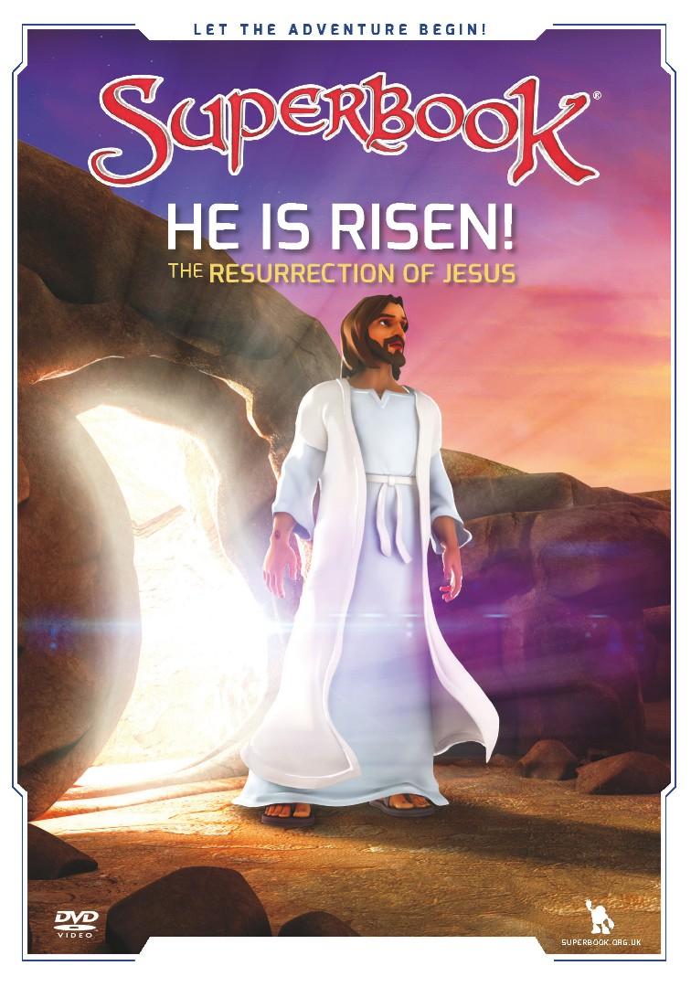 Superbook: He Is Risen! DVD