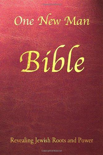 One New Man Bible Burgundy