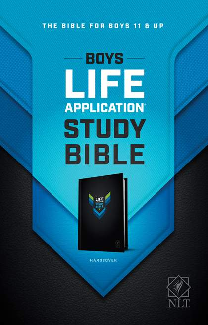 NLT Boys Life Application Study Bible