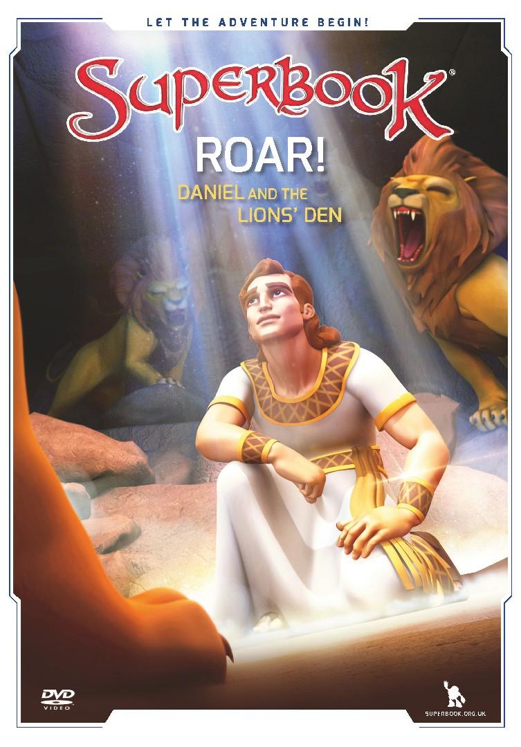 Superbook: Roar! Daniel And The Lions' Den DVD