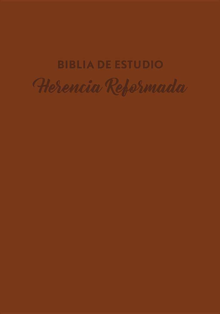 Biblia De Estudio Herencia Reformada
