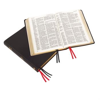 Large Print Westminster Reference Bible, Black Calfskin