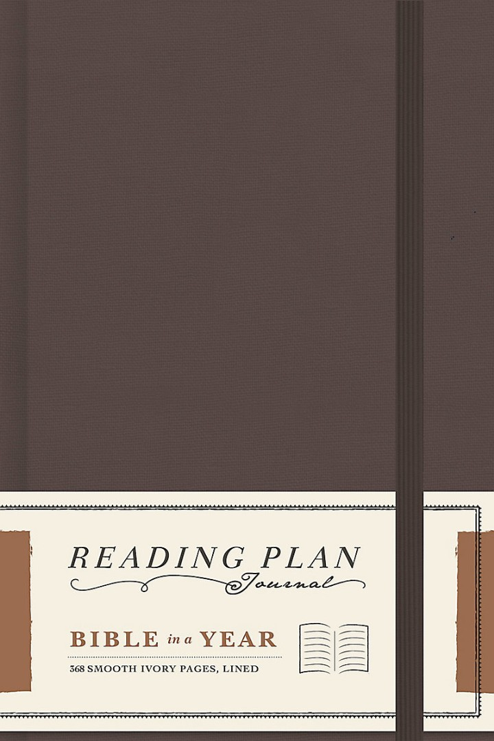 Bible In A Year Reading Plan Journal
