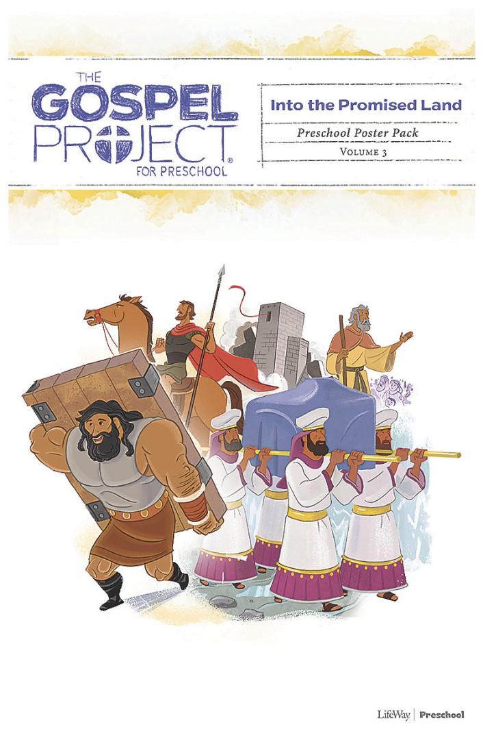 Gospel Project For Preschool: Poster Pack, Spring 2019