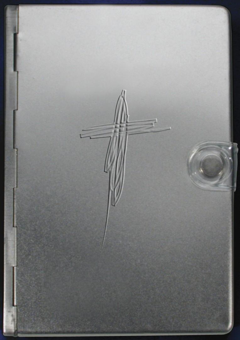 NTV Biblia Metal Plata