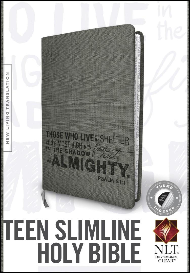 NLT Teen Slimline Bible: Psalm 91