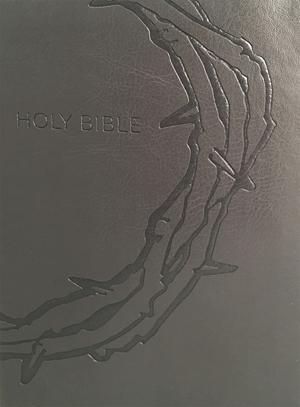 KJV Sword Study Bible, Giant Print, Charcoal, Indexed