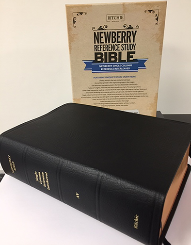 Newberry Reference Bible Interleaved