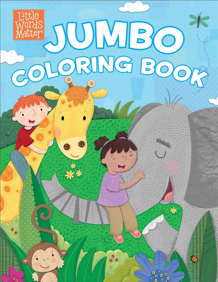 Little Words Matter Jumbo Coloring Book