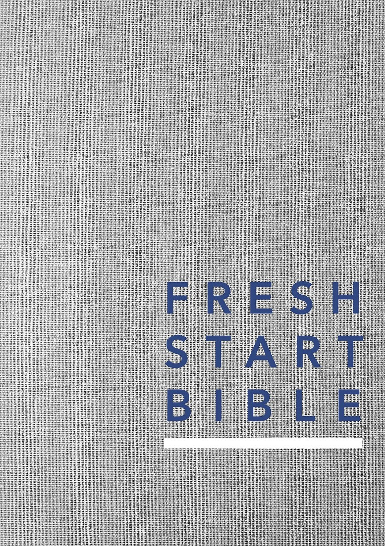 NLT Fresh Start Bible, Hardcover
