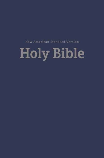 NASB Pew and Worship Bible, Blue, Comfort Print
