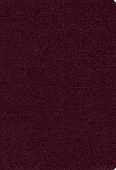 NASB Thinline Bible, Burgundy, Red Letter Ed., Comfort Print