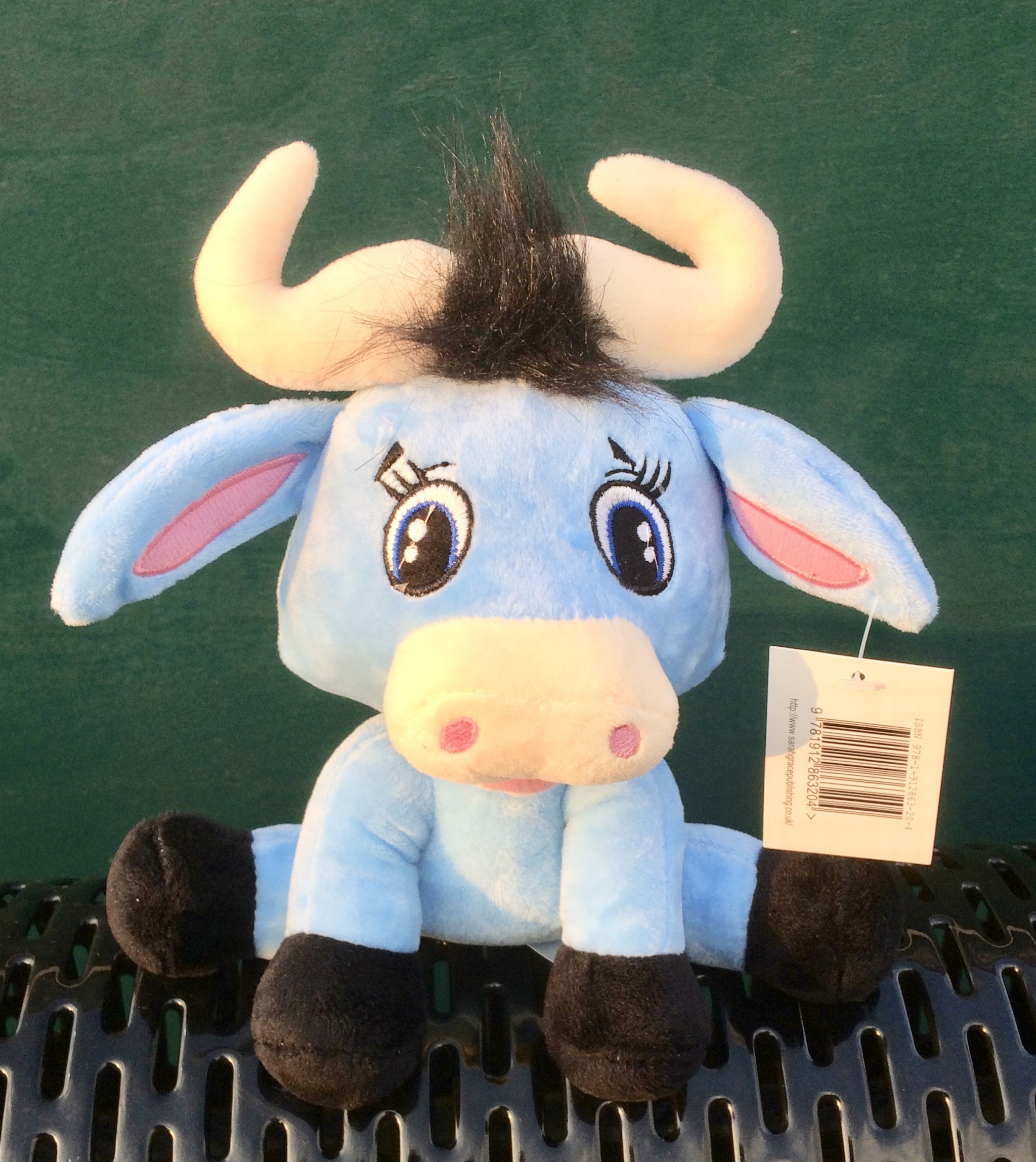 Bertie the Buffalo Soft Toy