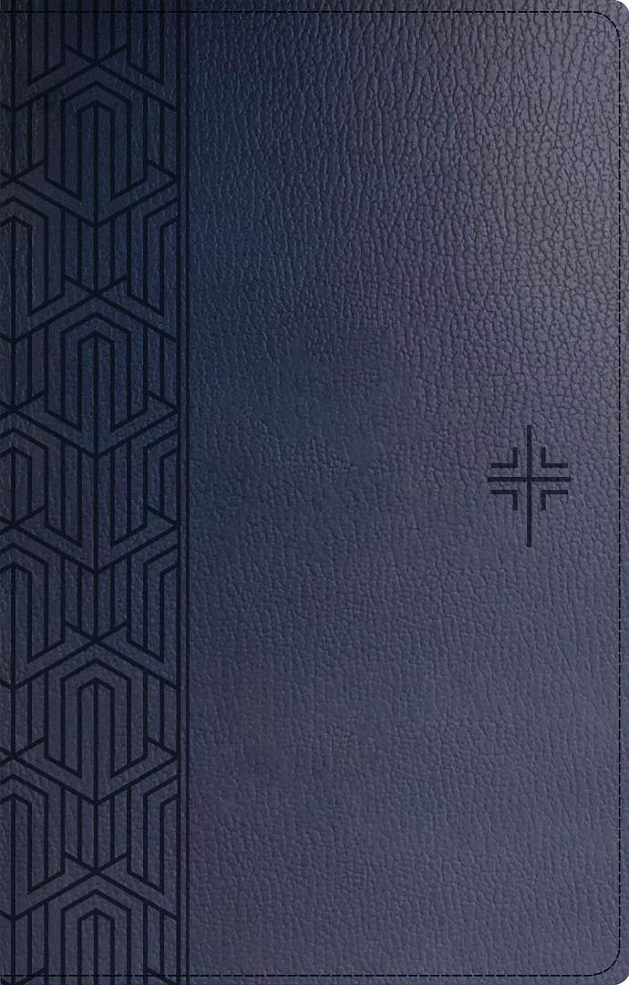 NLT Premium Gift Bible (Red Letter, LeatherLike, Blue)