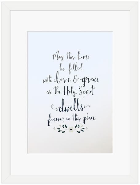 May This Home Framed Print (6x4)