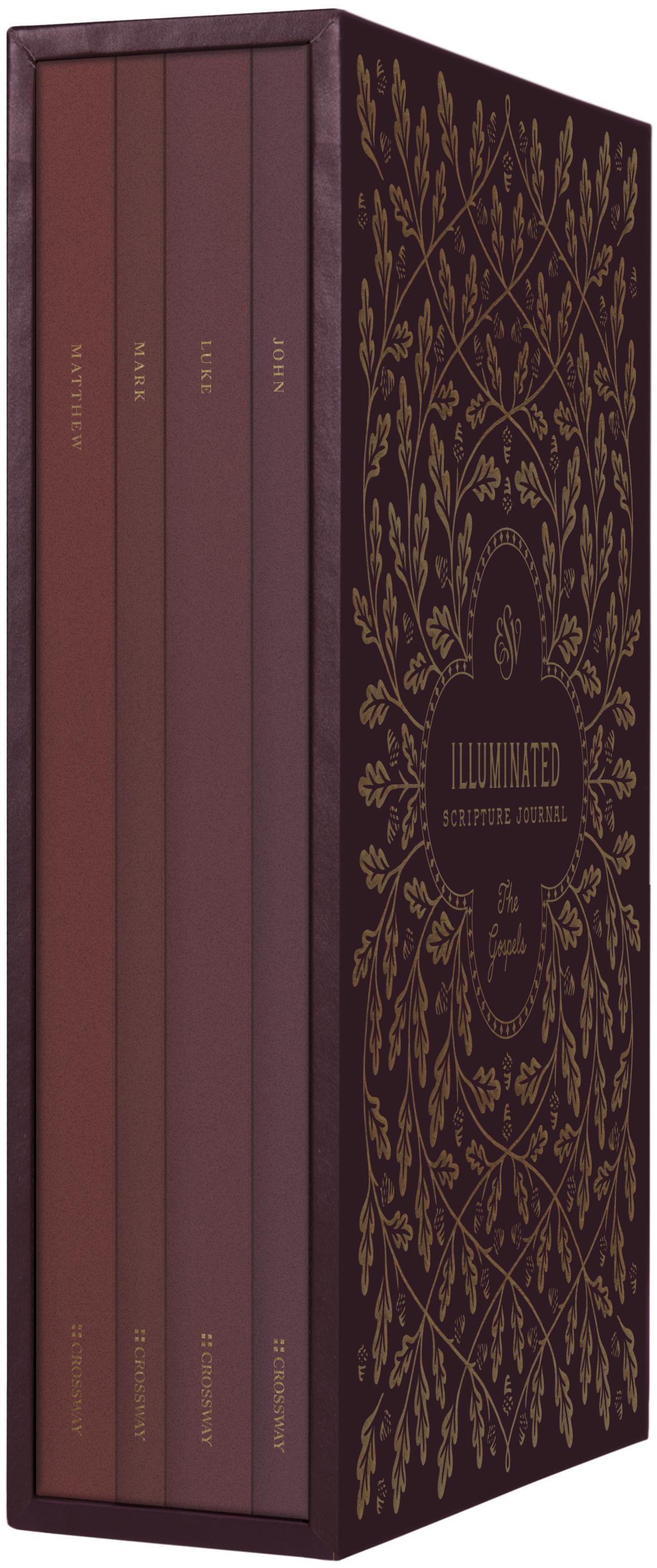 ESV Illuminated Scripture Journal: Gospels Set