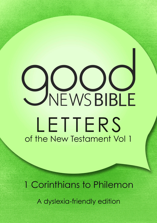 GNB The New Testament Letters, Volume 1 (Dyslexia Friendly)