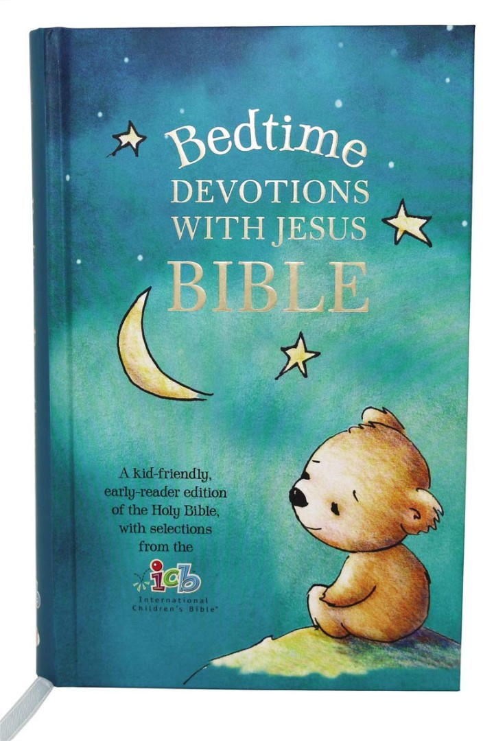 ICB Bedtime Devotions with Jesus Bible